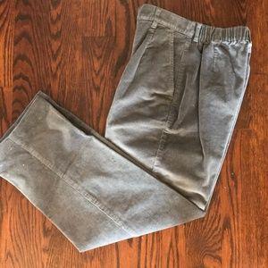 L.L.BEAN Grey Corduroy pants
